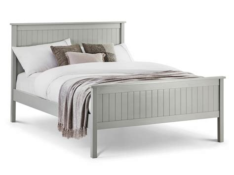 Grey King Size Bed Frame Julian Bowen Maine King Size Dove Grey Wooden Bed Frame