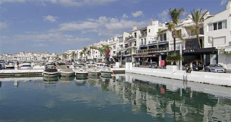 porto banus pin banus spain on