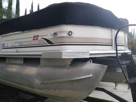 pontoon boat bumpers aluminum welding