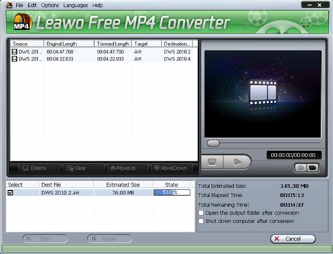 mp4 format converter youtube leawo mp4 to youtube converter 3 1 0 0