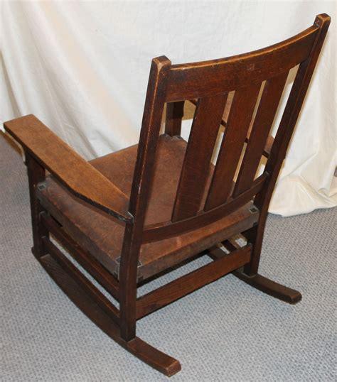 bargain johns antiques gustav stickley oak rocking