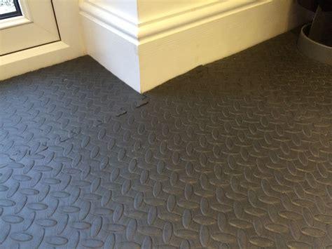 garage floor rugs interlocking floor mats black workshop garage floor protection ebay