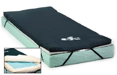 Hospital Bed Gel Mattress by Invacare Ivcgfmo2 Gel Mattress Overlay App Pads