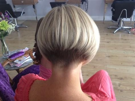 extreme wedge haircut graduated bob from the back bob 2014 pinterest