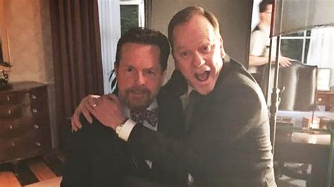 michael j fox and kiefer sutherland michael j fox joins instagram with help from kiefer