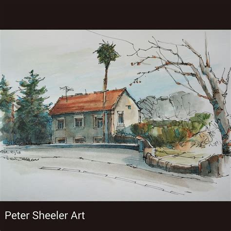watercolor urban tutorial 362 best peter sheeler tutes images on pinterest