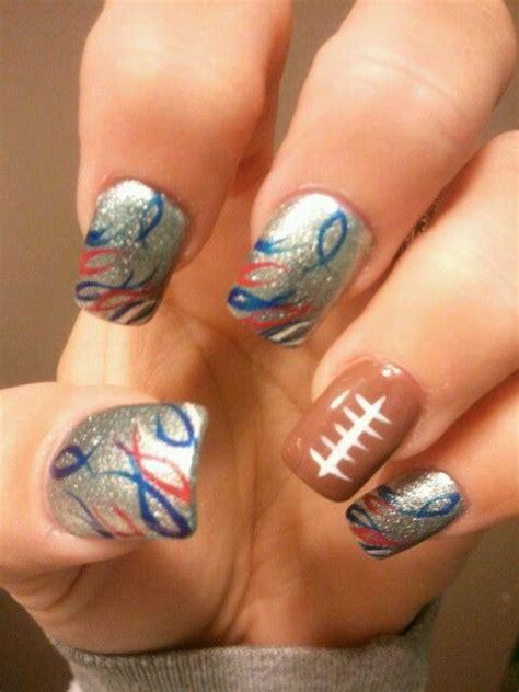 Patriots Nail Designs