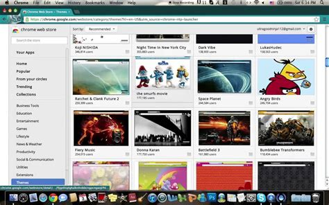 theme youtube google chrome how to change your google chrome theme on mac osx youtube