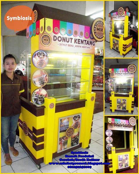 desain gerobak kentang goreng jasa pembuatan stand booth pameran kitchen set dan rombong