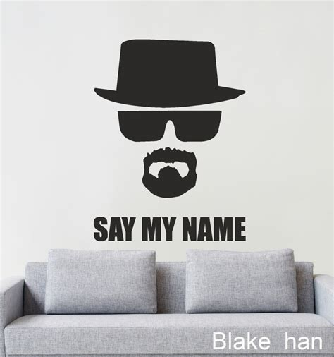 breaking bad home decor free shipping home decor wall art dcals breaking bad