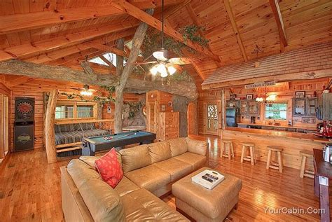 Timber Top Luxury Cabins by The Tree House 1 Bedroom Cabin In Gatlinburg Sevier County Timber Tops Luxury Cabin Rentals