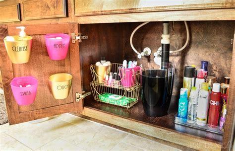 bathroom vanity organization bathroom organization under the sink tips side 1