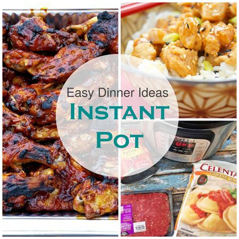 house dinner ideas easy instant pot dinner meal ideas the house