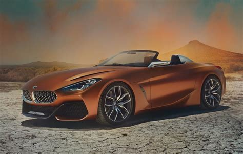 concept bmw bmw z4 concept revealed production model coming in 2018