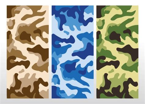 military pattern ai 3 seamless camouflage pattern vector welovesolo