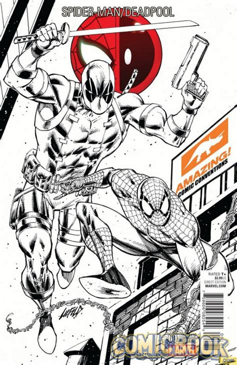 color your own black panther books deadpool 1 signed exclusive variant in store