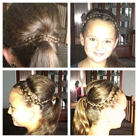 high ponytail with poof hairstyle 7 simple steps 2 pin by jessica orozco on my creations pinterest