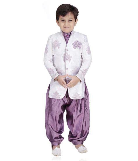 riwaaz cream mehroon color kurta pajama set with jacket mint purple tussar silk boy s kurta pajama buy mint