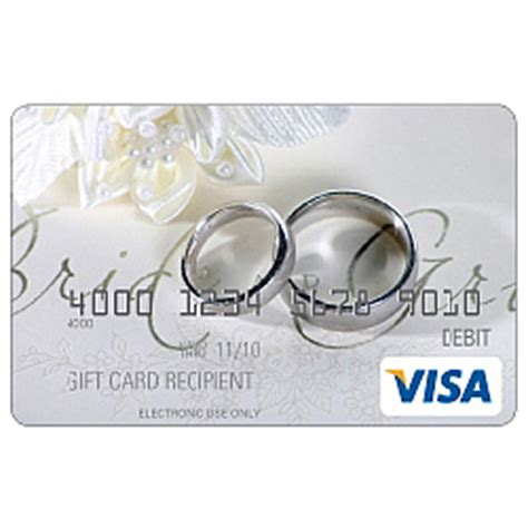 Visa Gift Card Custom Amount - wedding rings visa gift card findgift com
