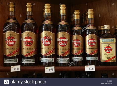 shop casa bottles of club rum seen in the tobacco and rum