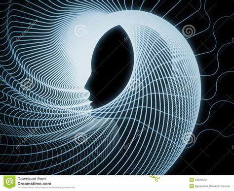 Geometry Designs perspectives of soul geometry stock photography image