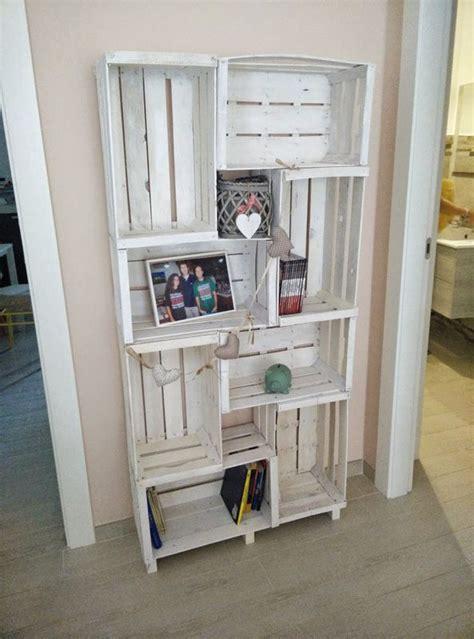 libreria cassette legno librerie per bambini fai da te foto pourfemme