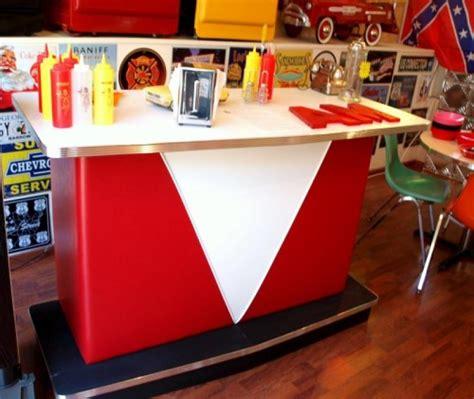 comptoir snack bar de salon comptoir vintage et blanc