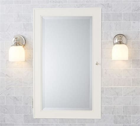 beveled mirror medicine cabinet recessed bath decor framed recessed medicine cabinet beveled