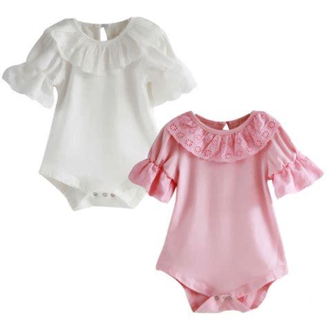 Newborn Infant Baby Lace Romper Bodysuit Jumpsuit Sunsui newborn baby sleeve lace bodysuit romper jumpsuit clothes 0 18m ebay