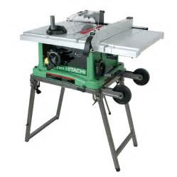 shop hitachi 15 10 quot table saw at lowes