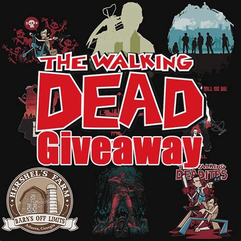 Dead Giveaways - walking dead giveaway 50 gift card from redbubble teehunter com