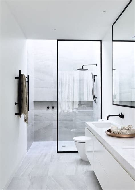 modern black and white bathrooms best bathroom ideas on bathrooms bath room