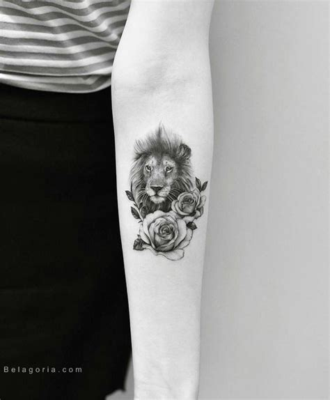 75 tatuajes de leones para mujer 2018 brillantes