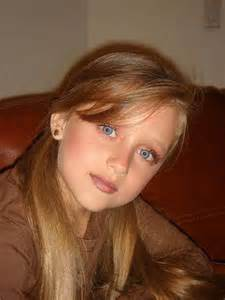 10 year with brown hair gaby borges gabriela borges 10 years old baby blue