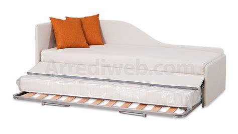 chaise cassée divano dormeuse letto con doppio letto estraibile m2070