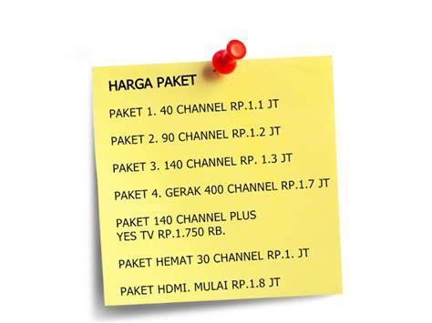 Harga Tv Channel parabola murah semarang parabola murah semarang hadirkan