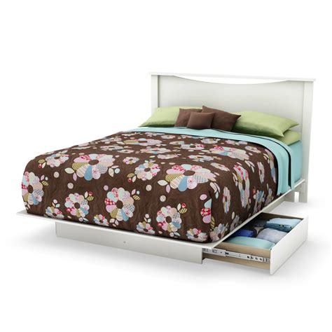 full size platform storage bed full queen size storage platform bed w 2 drawers black
