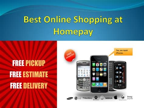 best shopping at homepay