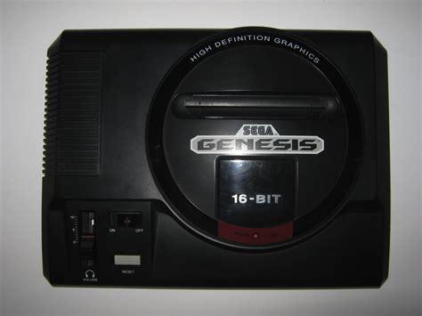 genesis console sega genesis system console ntsc usa nightfall