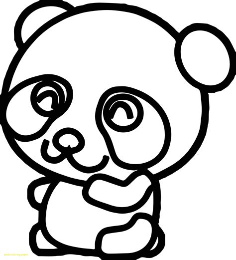 Coloring Page Panda by Panda Coloring Pages