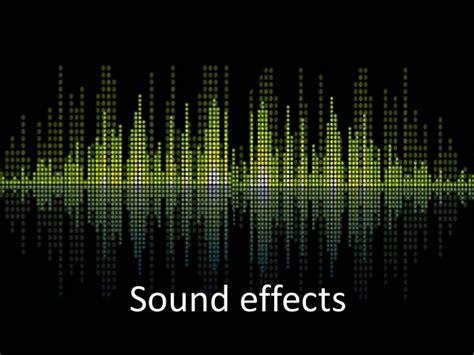 sound effects sound effects presentation