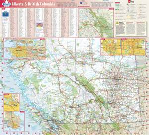 columbia alberta provincial wall map by globe turner