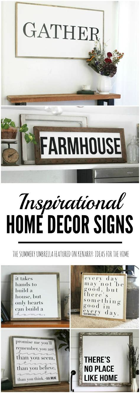 home decor signs sayings de 25 bedste id 233 er inden for fall collections p 229