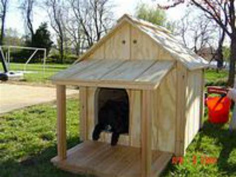 homemade dog house ideas sparky bigdiyideas com
