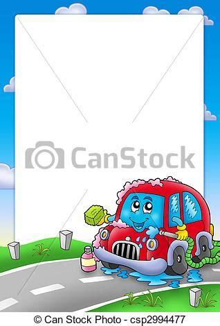 cornici cartone archivio illustrazioni di automobile cornice cartone