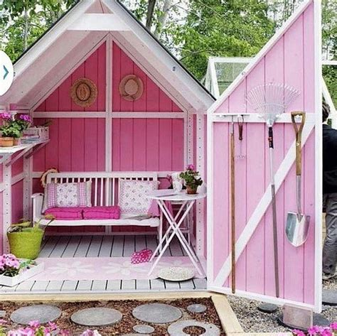 gorgeous  shed ideas