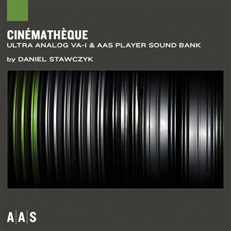 sound bank applied acoustics systems cinematheque sound bank and aas