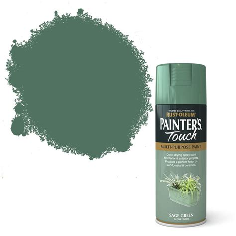 rust oleum painters touch sage green gloss gloss