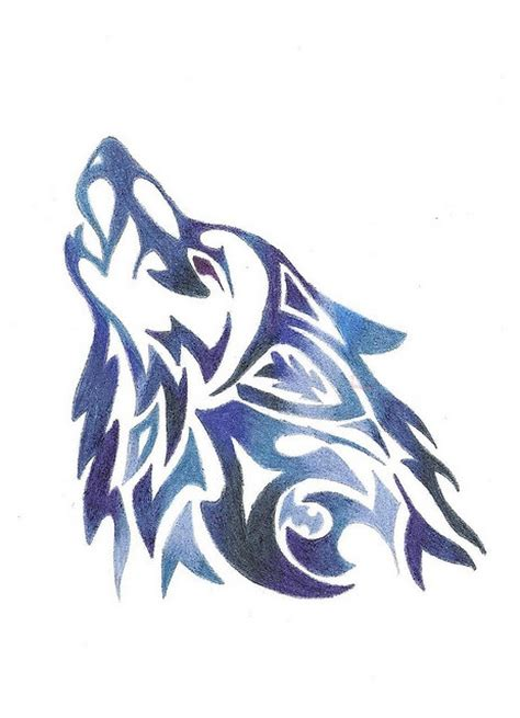 17 best ideas about simple wolf tattoo on pinterest