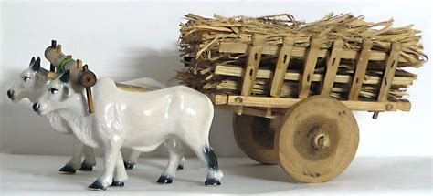 bullock cart  hay
